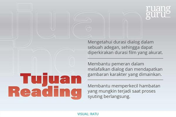 tujuan reading