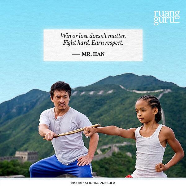Mr. Han Quotes