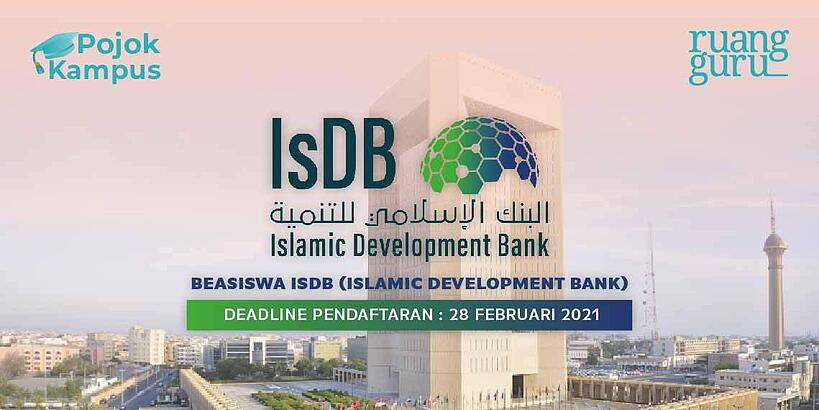 beasiswa islamic development bank