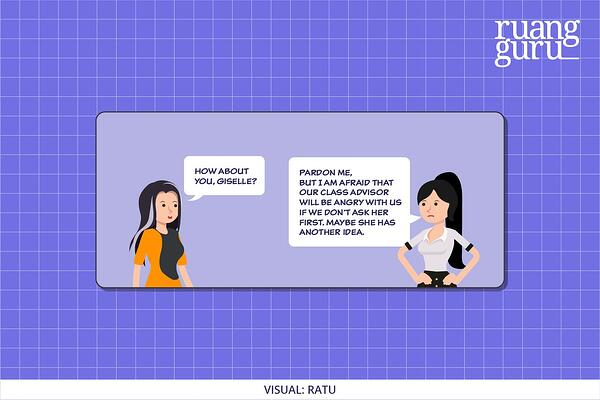 contoh dialog expression of agreement and disagreement 2