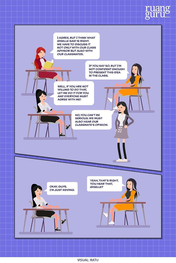 contoh dialog expression of agreement and disagreement 3