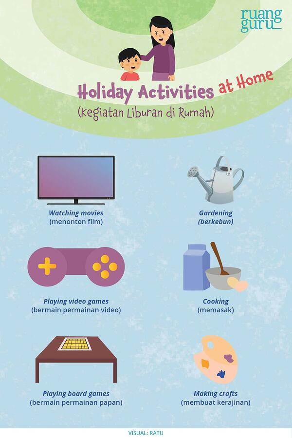 holiday activities at home