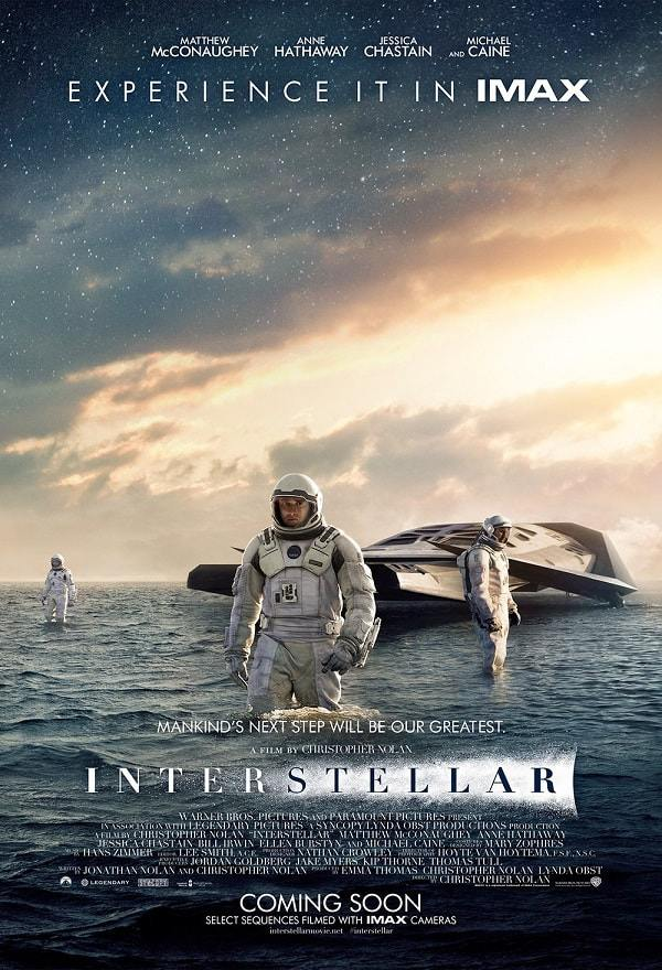 Poster Film Interstellar