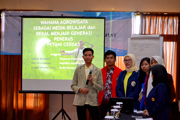 workshop beasiswa VDMS